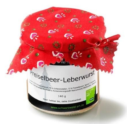 Preiselbeer-Leberwurst