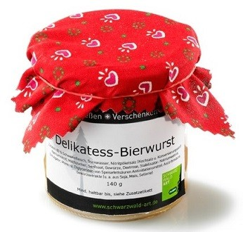 Delikatess-Bierwurst